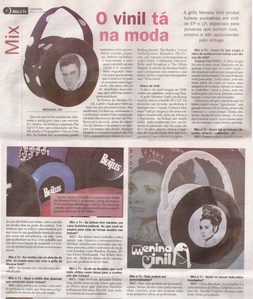 Caderno Mix & TV - Jornal O Nacional